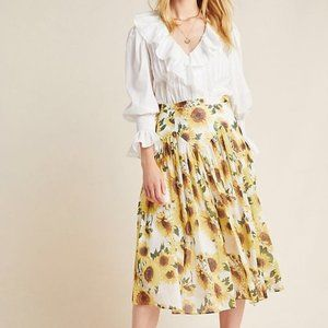 Hope for Flowers by Tracy Reese Sunflower Skirt
